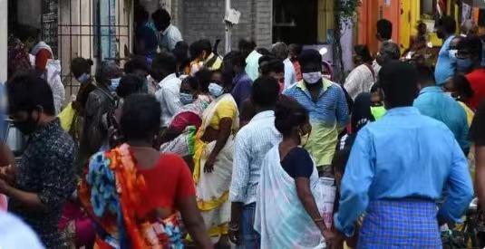 印度泰米尔纳德邦宣布实行封锁 35万人离开首府金奈