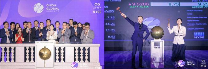 洋葱集团成功登陆纽交所 成国内首个上市的品质生活品牌平台