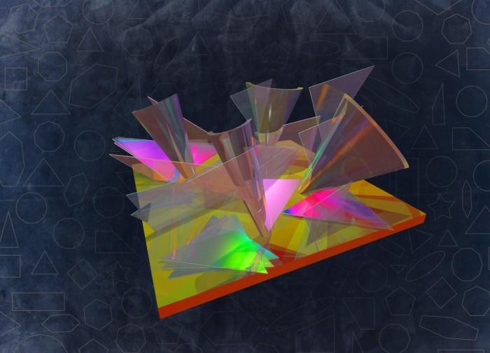 物理学家在2D材料交叉处观察到被修正的能量景观
