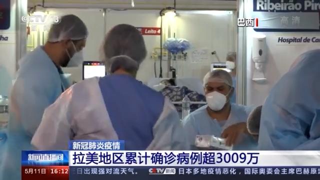 拉美地区新冠肺炎累计确诊病例超3009万