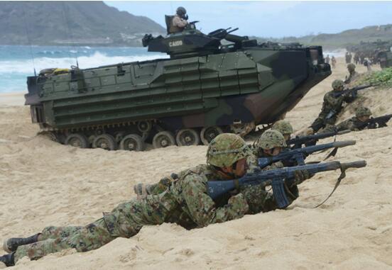 日美法部队首次在日本实施登岛训练 日媒扯上钓鱼岛和台湾