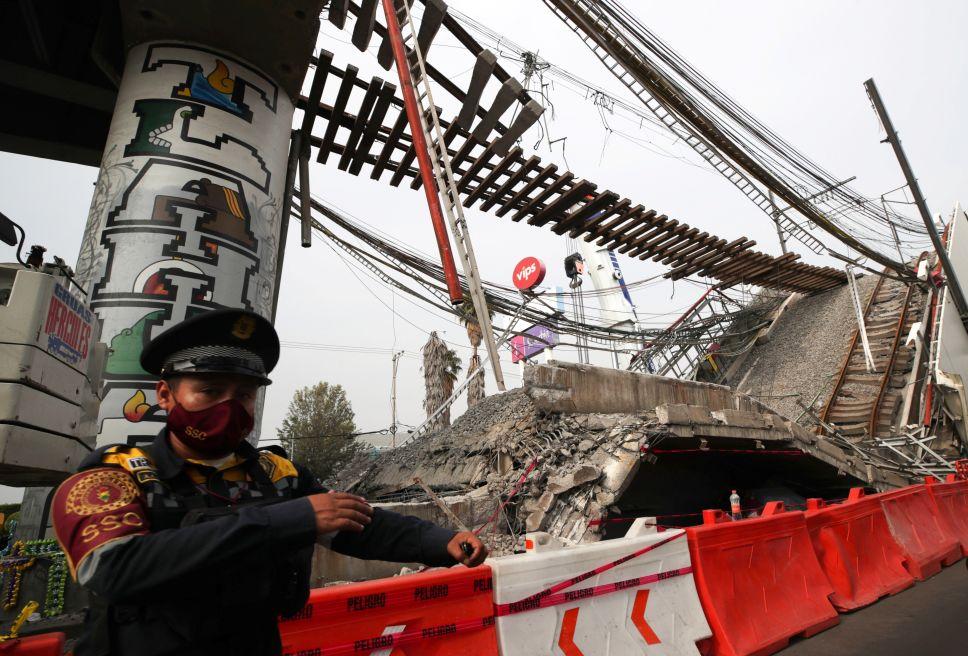 墨西哥城地铁垮塌事故第三方调查或花费上百万美元