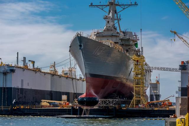 美媒:为与中国竞争下赌注,美国要立法支持船舶业,但还远远不够图片