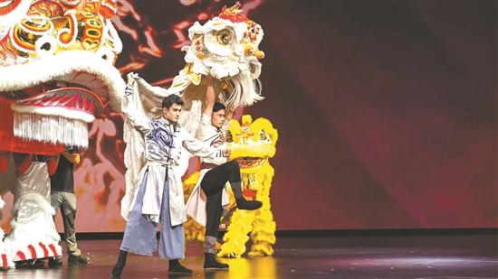民族舞剧《醒狮美高梅》来澳门啦