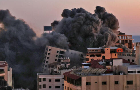 数颗火箭弹从加沙射向以色列特拉维夫 至少1人死亡