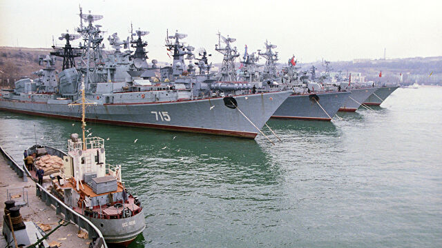 俄罗斯庆祝黑海舰队成立238年