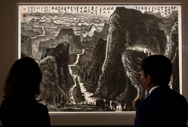 李可染画作《长征》领衔 中国嘉德2021春拍今日启幕