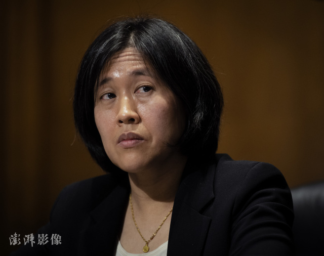 """美贸易代表戴琦:应对中国 美国需要""""新贸易工具""""图片"""