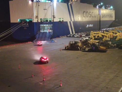 中远海运汽车船队助力国产品牌汽车安全出口