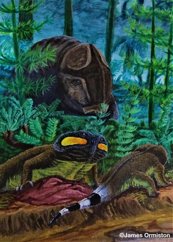 大规模灭绝事件后 远古食草动物发展出强大的颚部来消化更坚硬的植物