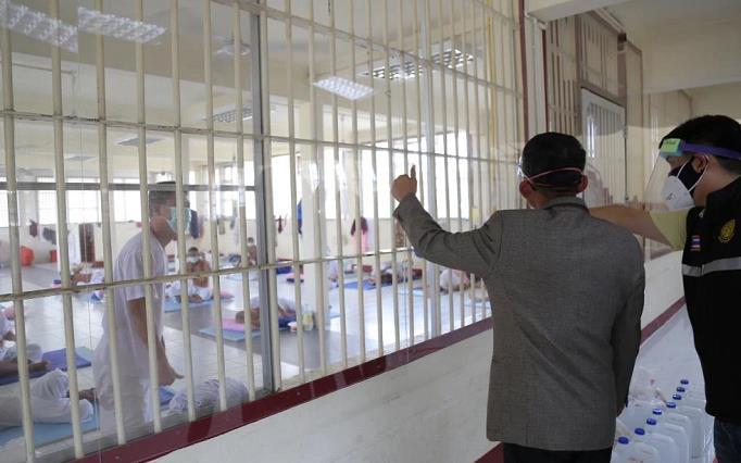 泰国三监狱新增新冠肺炎确诊病例1219例