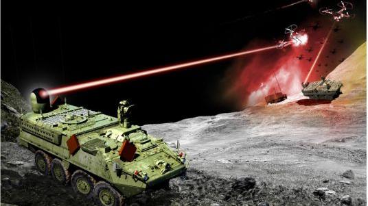 美媒:美陆军首部激光武器即将进行试射