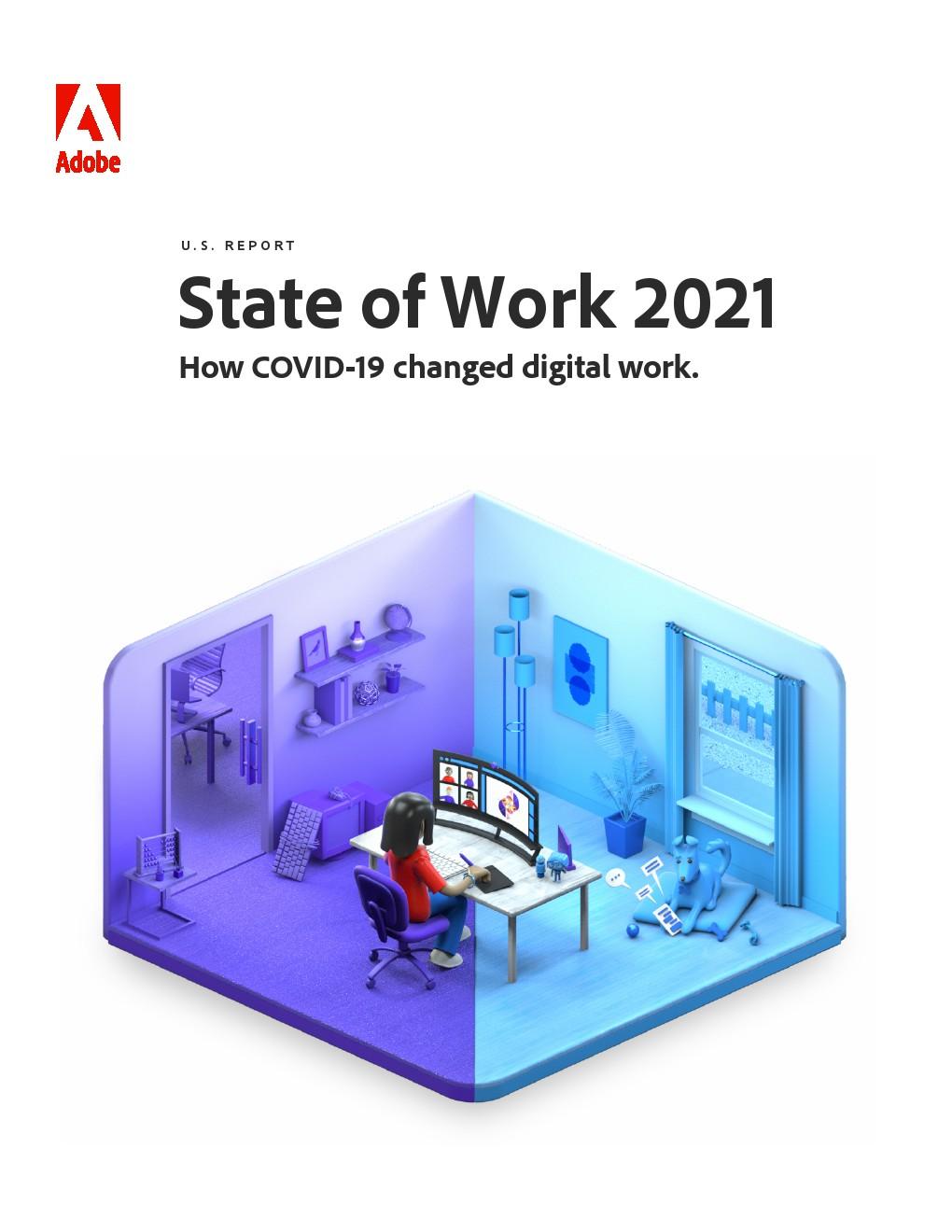 Adobe:2021年美国工作状态报告
