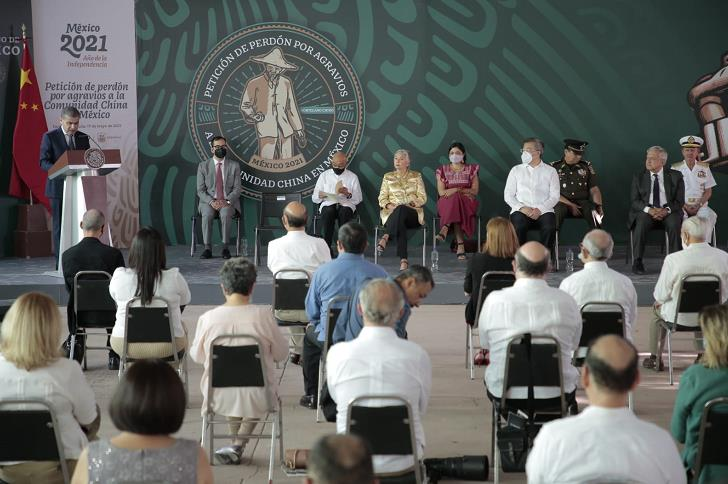"""墨西哥总统为110年前针对华人的""""托雷翁惨案""""道歉"""
