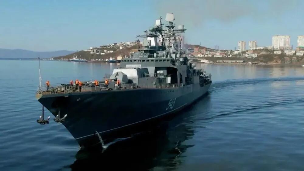 俄方宣布继续将无畏级大型反潜舰升级改造为护卫舰