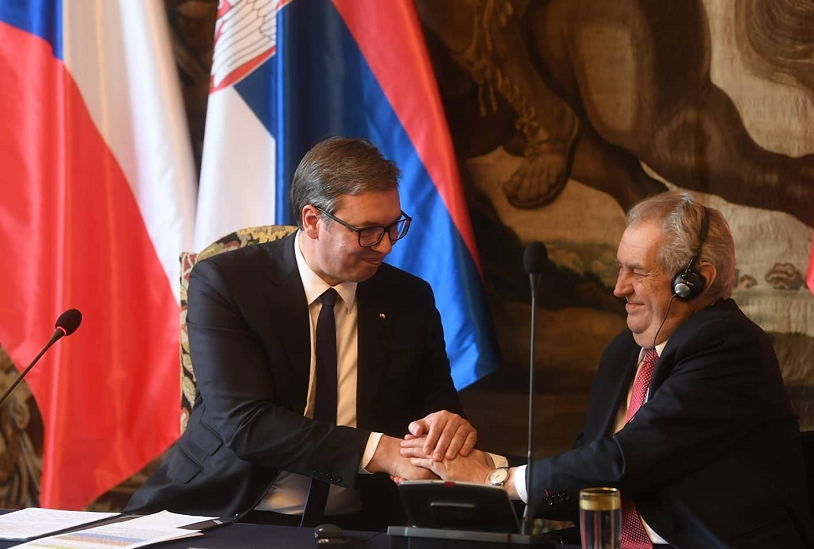捷克总统泽曼就捷克参与1999年北约轰炸南联盟道歉