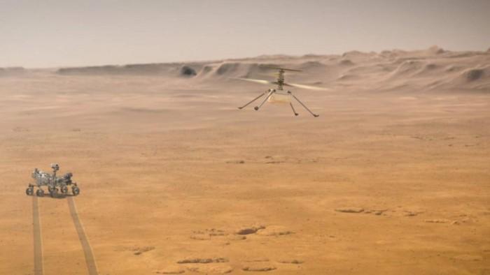 """美国宇航局宣布""""机智号""""无人机任务延长30天"""