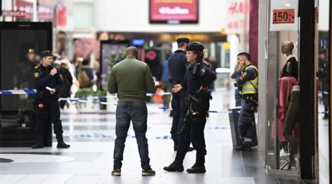 瑞典首都北部一购物中心发生枪击事件