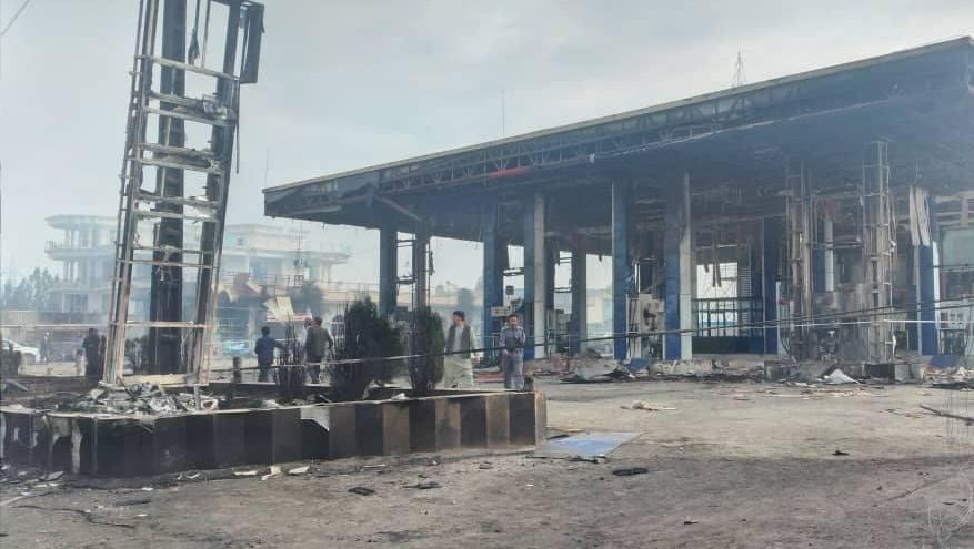 阿富汗喀布尔北部加油站发生重大火灾 已致7人死亡