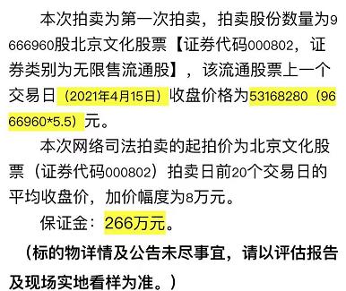 966万股股票大家都不要 卷入天价片酬的北京文化还有机会活下去吗?