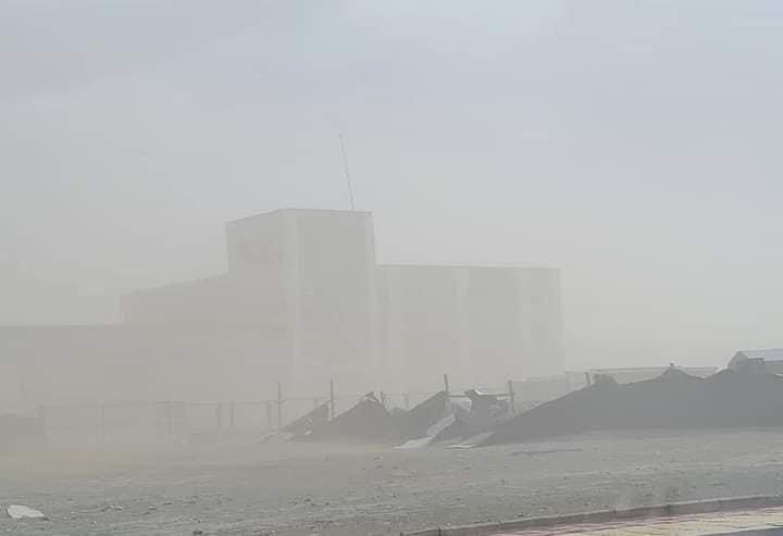 蒙古国发出强暴风雪和沙尘暴恶劣气象预警