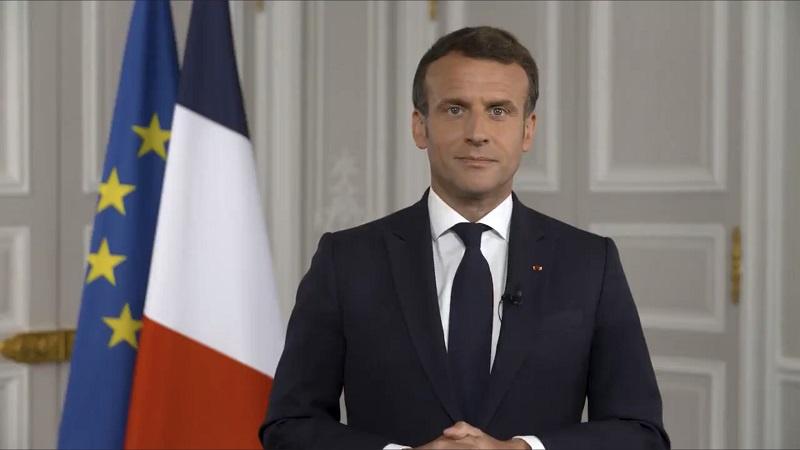 法国总统马克龙呼吁加大新冠疫苗生产与分配