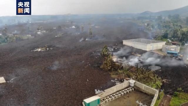 刚果(金)火山喷发已致15人死亡 170名儿童仍然失联
