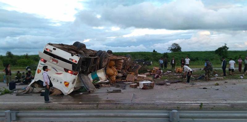 缅甸仰光省4个月里有160人死于交通事故