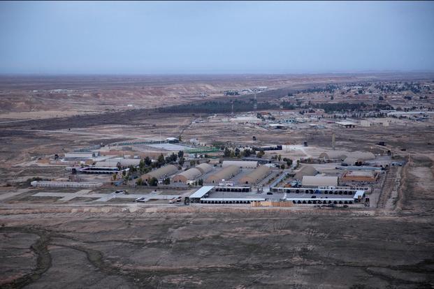 被无人机偷袭后,驻伊拉克美军基地又遭火箭弹袭击