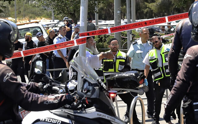 两名以色列人遭巴勒斯坦人袭击受伤 袭击者被击毙