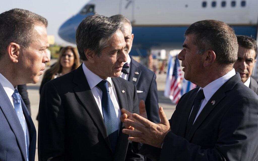 美国国务卿抵达以色列 开始访问中东