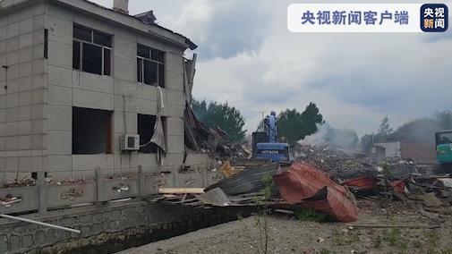 黑龙江东宁楼体爆炸致2死5伤,涉事公司负责人被控制插图(1)
