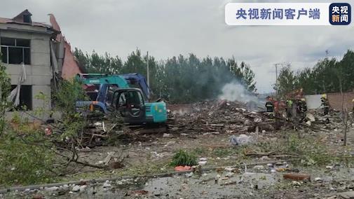 黑龙江东宁楼体爆炸致2死5伤,涉事公司负责人被控制插图