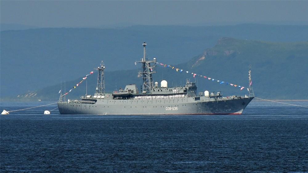 俄侦察船抵近夏威夷,美军:合法