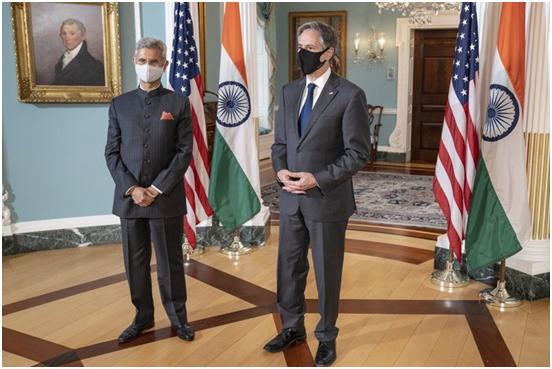 布林肯见印外长称与印度团结抗疫 网友:谎言!