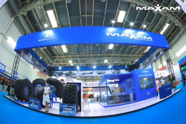 赛轮集团特种胎品牌迈驰闪耀中国国际矿业展