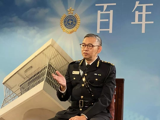 """香港惩教署首次披露""""秘密武器"""" 曾多次押解黎智英"""