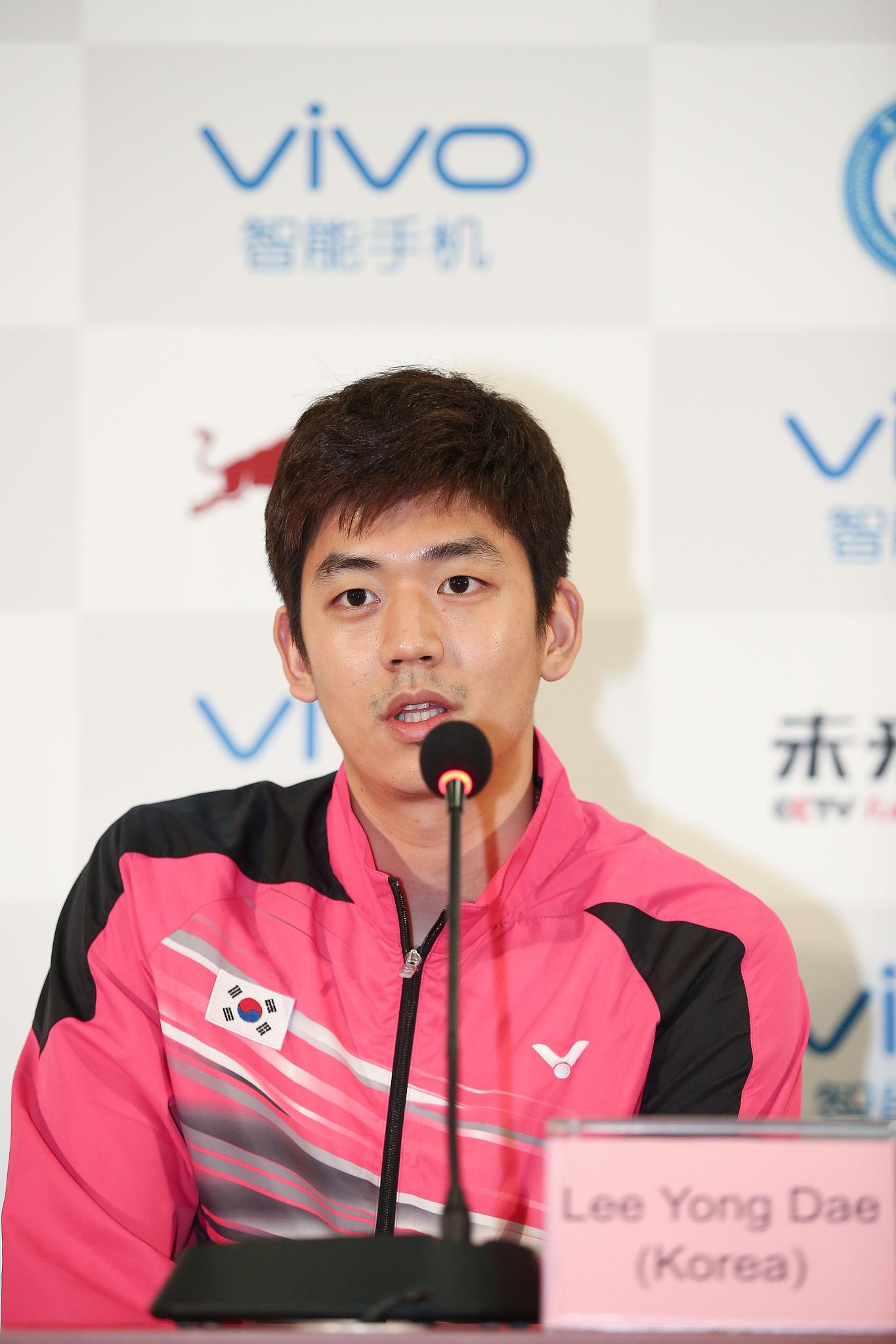 韩国著名羽毛球运动员李龙大确诊感染新冠肺炎