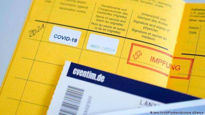 新冠疫苗接种证书缺少防伪证明 德国面临证书伪造困境