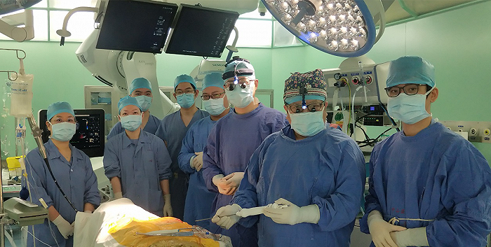 亚洲首例穿刺式二尖瓣腱索重建手术在上海中山医院完成图片