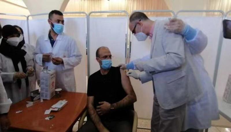 """黎巴嫩启动新冠疫苗接种""""马拉松""""活动"""