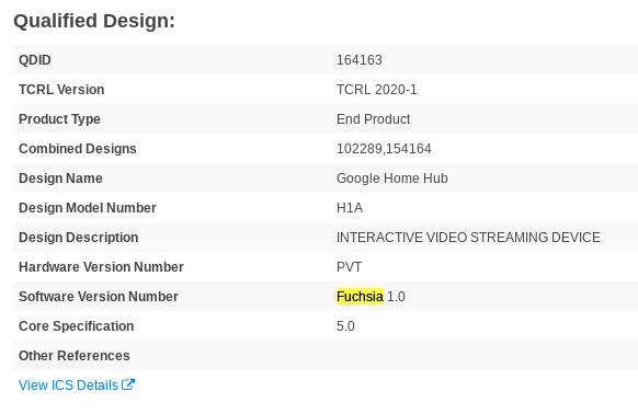 """谷歌全新""""Fuchsia 1.0""""系统硬件设备要来了"""