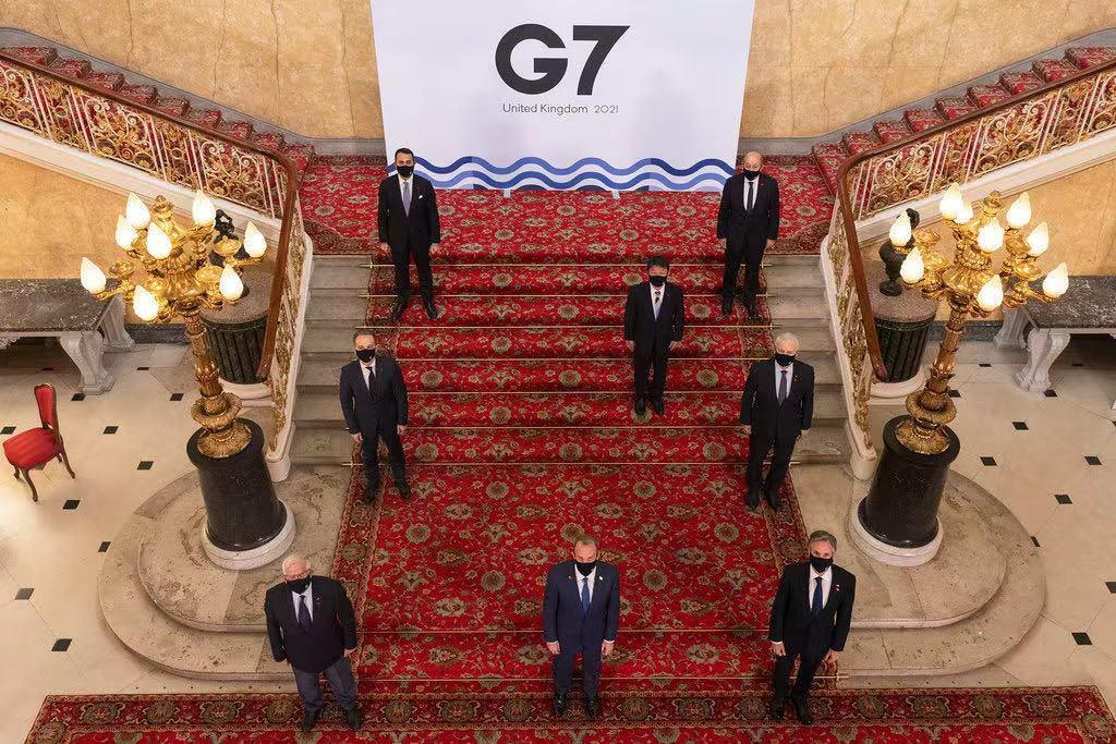 七国集团外长会结束并发布联合声明