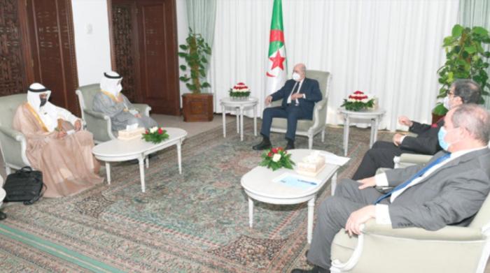 科威特外交大臣访问阿尔及利亚