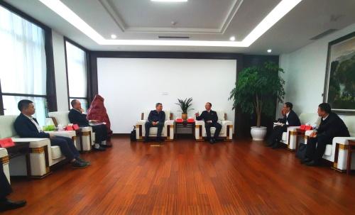国家电投党组成员、副总经理到江西调研并拜会江西省吉安市委书记