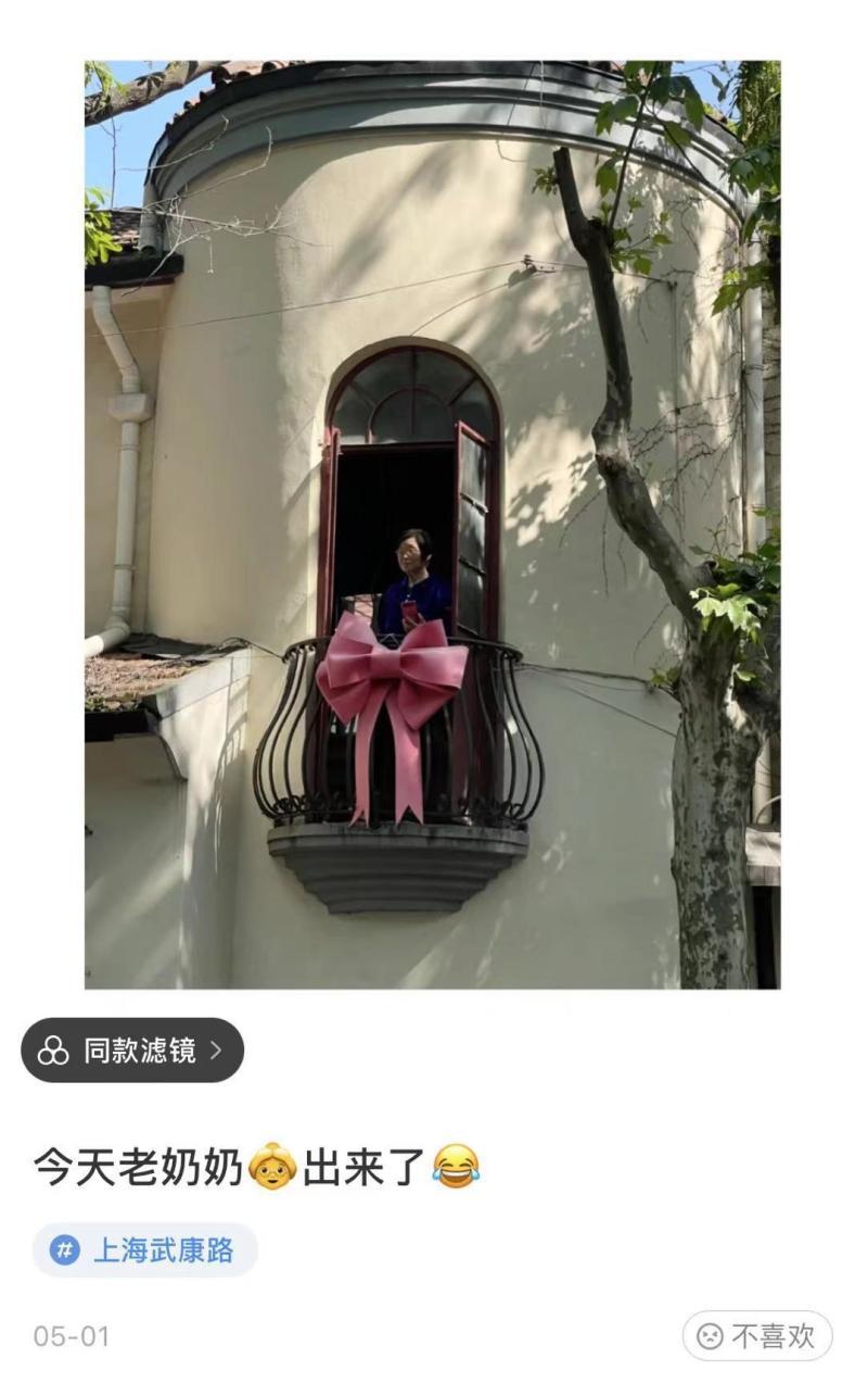 """扎堆武康路打卡""""网红蝴蝶结"""",该骂的只有跟风拍照的人?"""