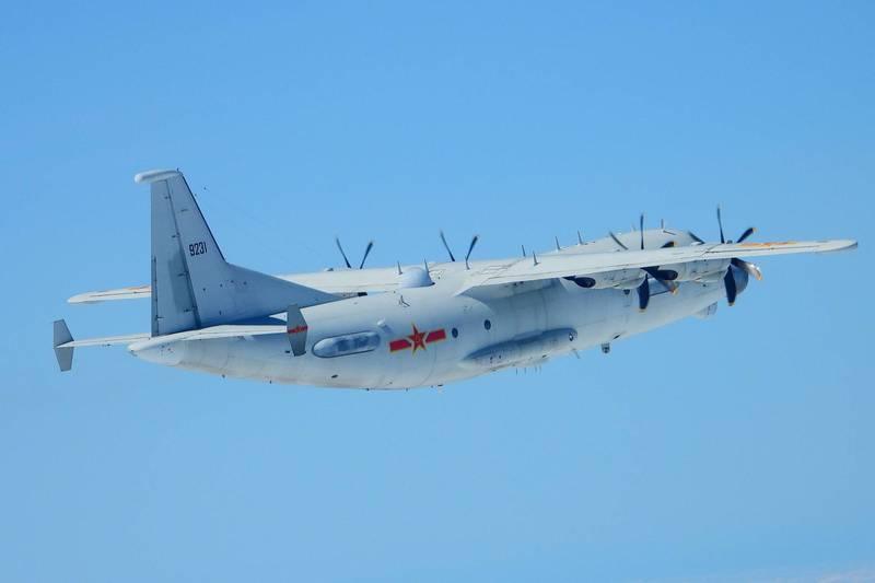 绿媒炒作:解放军军机今天3次进入台湾西南空域