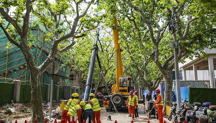 上海启动新一轮架空线入地和杆箱整治,计划3年完成600公里