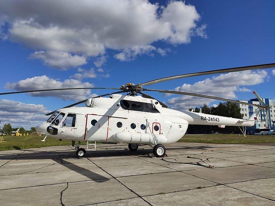 俄罗斯一直升机失联 救援人员正准备搜索行动