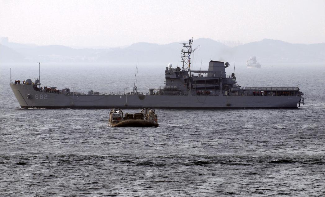 韩国军舰首次出现新冠疫情大暴发 已有38名舰员感染